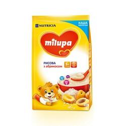 Каша Milupa молочная Рисовая с абрикосом (5m+), 210г (930072)