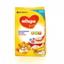 "Каша Milupa ""Кукурузно-рисовая с бананом "", (5m+) 210 г (931185)"