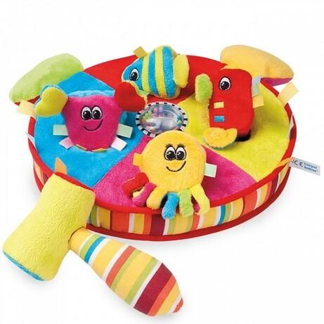 """Canpol babies.Игрушка с молоточком """"Разноцветный океан"""""""
