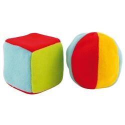 Canpol. Погремушки большой мячик и кубик (2/893)