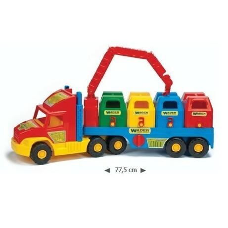 Wader «Super Truck» мусоровоз. (36530)