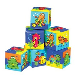 Playgro. Кубики для ванны, 6мес+ (0181170)