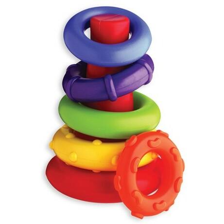 """Playgro. Развивающая игрушка """"Пирамидка"""", 9мес+ (4011455)"""