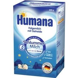 Humana. Детская молочная смесь с гречкой «Сладкие сны», 6мес+, 600 г. (785558)
