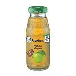 GERBER ® «Сок яблочный (осветленный)», 175 мл. (520488)