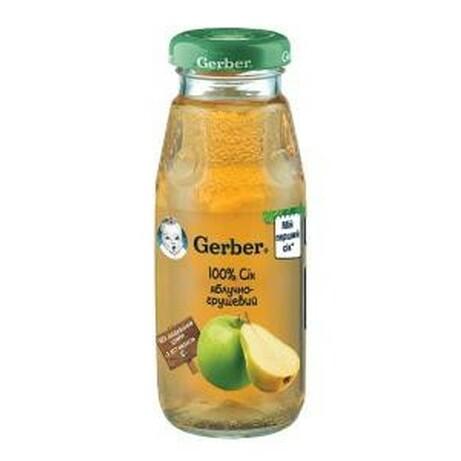 Gerber ® «Сок яблуко, груша», 175 мл. (520747)