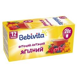 Bebivita. Детский травяной чай Ягодный, 30 гр (4820025490763)