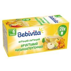 Bebivita. Детский травяной чай «Фруктовый низкоаллергенный» (1387)