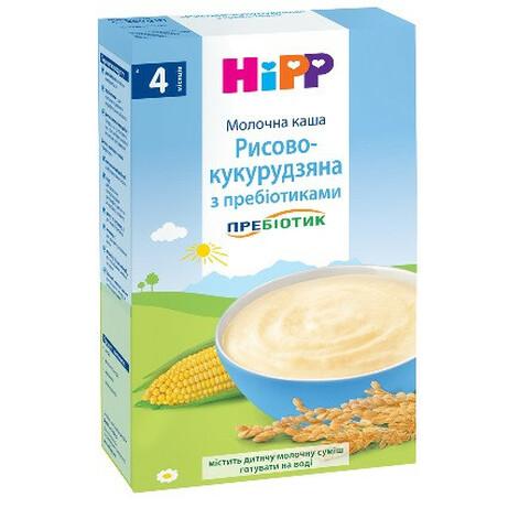 Hipp. Каша Hipp рисово-кукурузная с пребиотиками, 250 г. (2951)