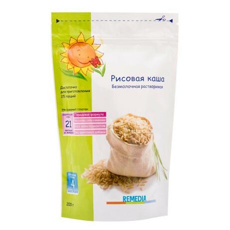 «Ремедиа» Рисовая каша, 200 г (021768)