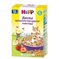 Hipp. Детские органические хлопья HiPP хрустящие, 15 мес+ 200 г (3534)