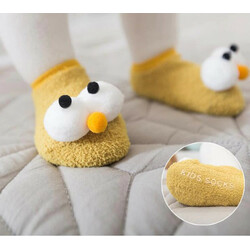Носки для новорожденных с глазками