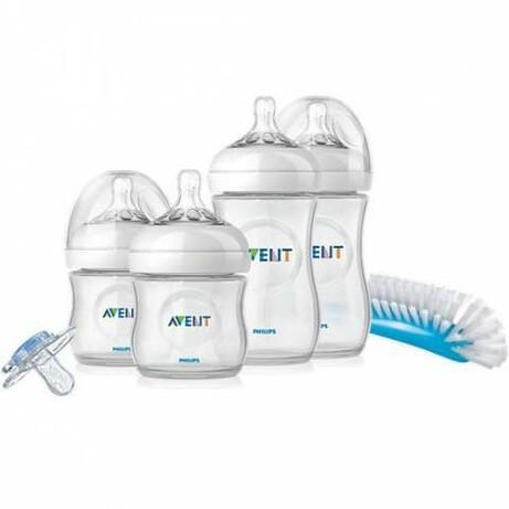 Avent. Набір пляшок для годування новонародженого Natural(0-6 мес) (876625)