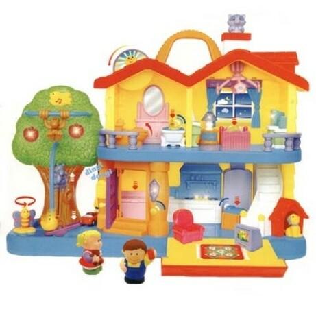 Kiddieland. Игровой набор - Загородный дом (свет, звук) (032730)