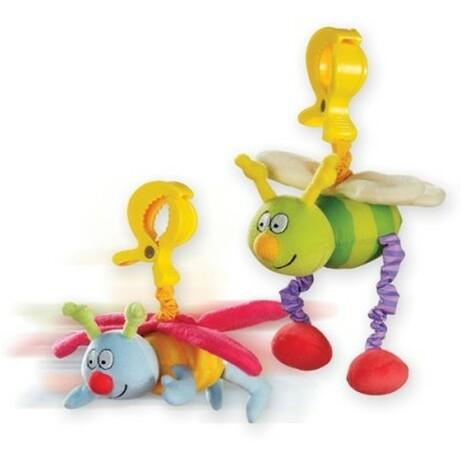 Taf Toys. Іграшка-підвіска на прищіпці Жу-жу(тремтячий метелик і бджілка, в асортименті) (10555)