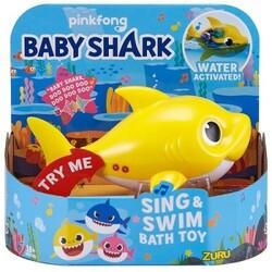 Baby Shark. Интерактивная игрушка для ванны Baby Shark Robo Alive Junior Baby Shark