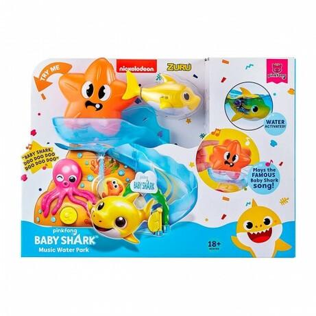 Pets & Robo Alive. Интерактивный игровой набор для ванны Robo Alive - Baby Shark (6900006573673)